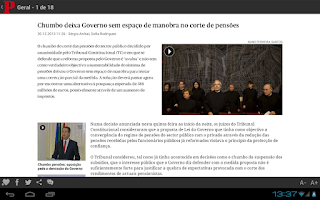 Screenshot of Público