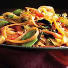 Vegetable-Noodle Stir-Fry