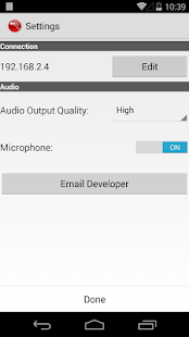PocketAudio Microphone - screenshot