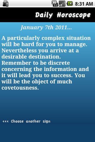 Horoscope du Jour Verseau