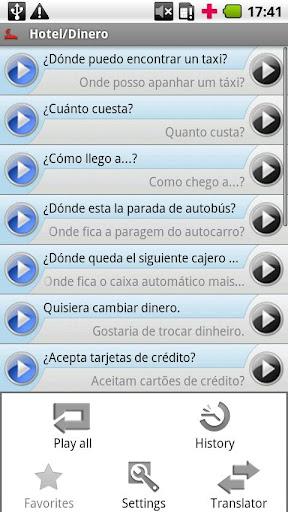 iSayHello 西班牙语 - 葡萄牙语/欧洲|玩旅遊App免費|玩APPs
