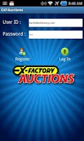Screenshot of EXF-Auctions