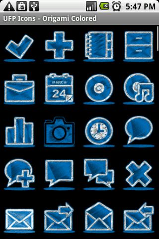 【免費個人化App】UFP Icons - Origami Colored-APP點子