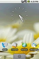 Screenshot of Transparent Clock Widget 2x2
