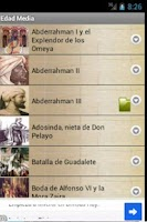 Screenshot of Pasajes de la Historia