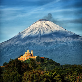 Popocatepetl by Alfredo Garciaferro Macchia - Landscapes Mountains & Hills