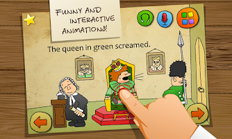 Screenshot of Carton Tongue Twisters English