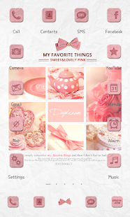 Lovely Pink icon theme - screenshot