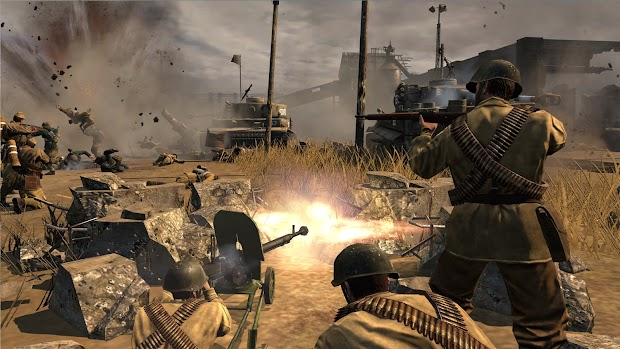 Company of Heroes 2 is free to play on Steam this weekend