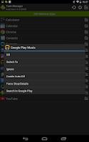Screenshot of Task Manager (Task Killer)