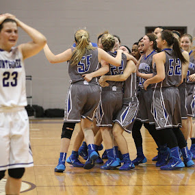Tears & Cheers by Eric Smith - Sports & Fitness Basketball ( hs girls hoops )