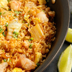 Kimchi and Shrimp Fried Rice Recipe