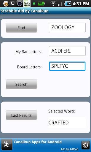 Scrabble Aid