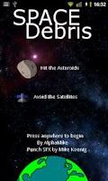 Screenshot of SpaceDebris