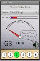 Screenshot of Free Guitar Tuner