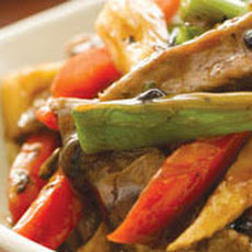 Red Pepper Beef in Black Bean Sauce