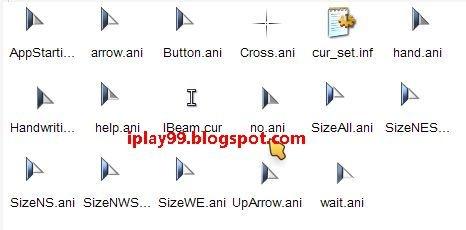 free mouse cursor,可愛滑鼠游標,ChaNinja