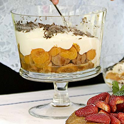 Really Easy Apricot & Amaretti Cream