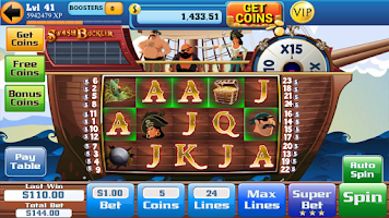 Screenshot of Slots Voyage: Slot Machines
