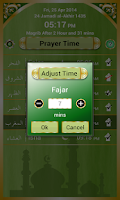 Screenshot of Muslims Prayer Time