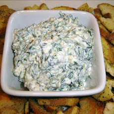 Creamy Ranch Spinach Dip