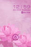 Screenshot of Go Locker Pink Water Lilies