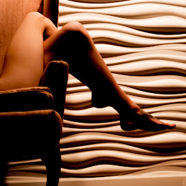 Legs by Tim Justtim - People Body Parts ( lighting, woman, legs, curves, shadows,  )