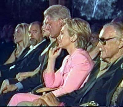 Stan lee, hillary and Bill Clinton and Peter Paul