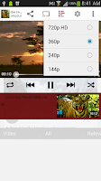 Screenshot of Viral Popup (Youtube Player)