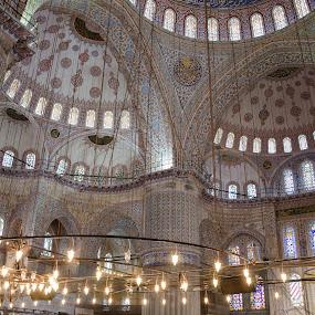 blue mosque by Nesrine el Khatib - Buildings & Architecture Places of Worship