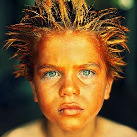 Crazy hair by Lucia STA - Babies & Children Child Portraits
