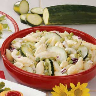 Cucumber Shell Salad