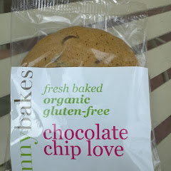 GF chocolate chip cookie from Ginny Bakes