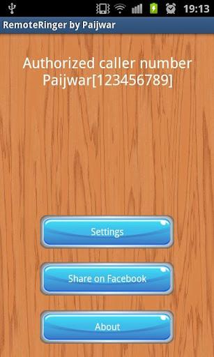 Remote Ringer FREE - Paijwar