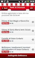 Screenshot of Bellinzona Guide (Italiano)
