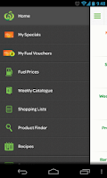 Screenshot of Woolworths