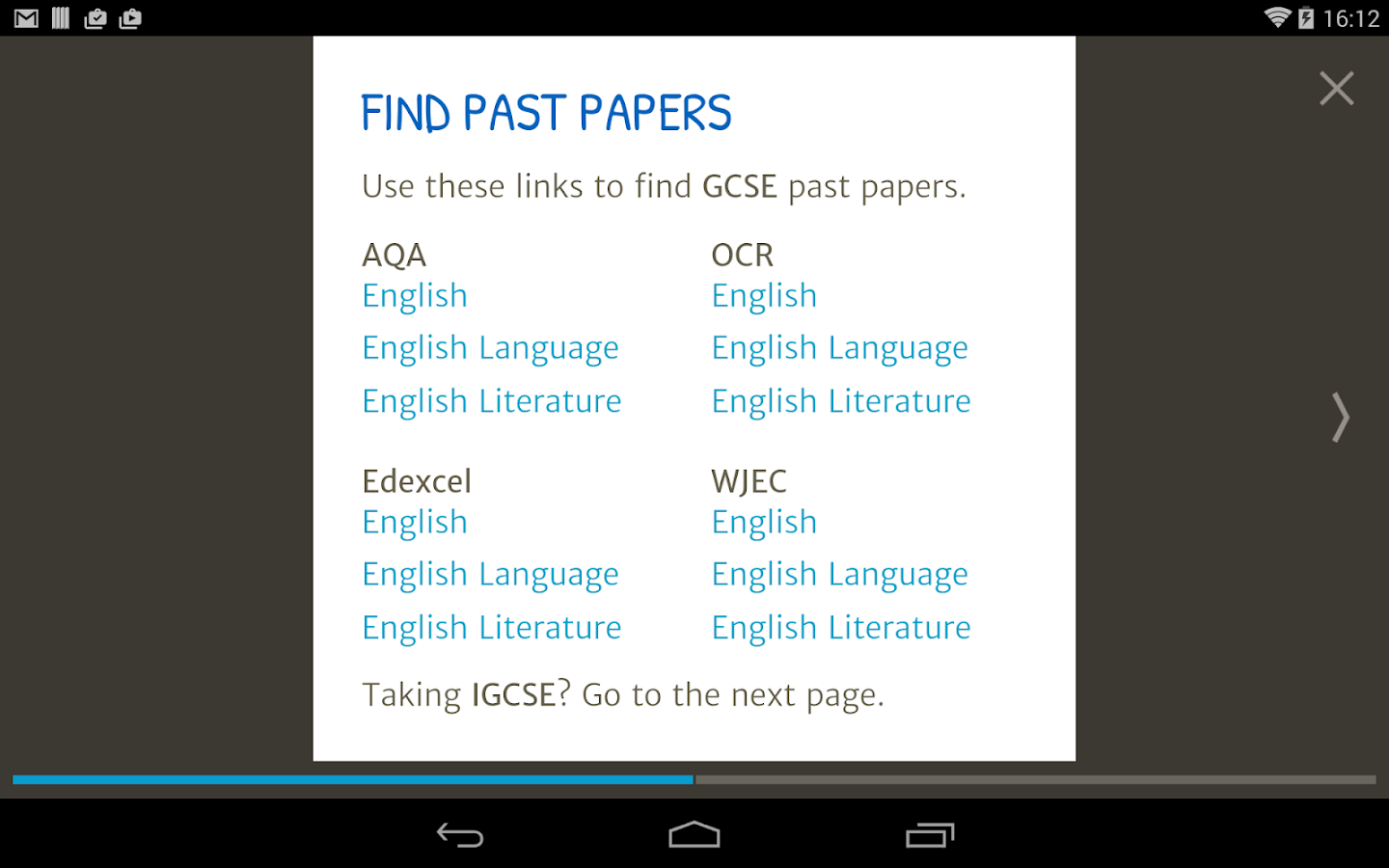 GCSE English (2016 exams) Screenshot 15