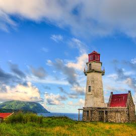 Lighthouse  by Victor Roman - Buildings & Architecture Public & Historical ( hdr, buildings, d300, south batanes, nikon,  )