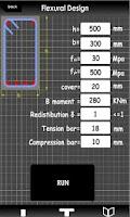 Screenshot of Concrete Beam Design