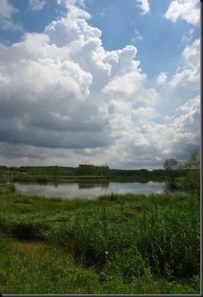 Panorámica del estany de sils