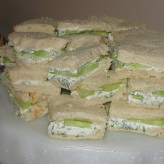 Grandma's Cucumber Tea Sandwiches