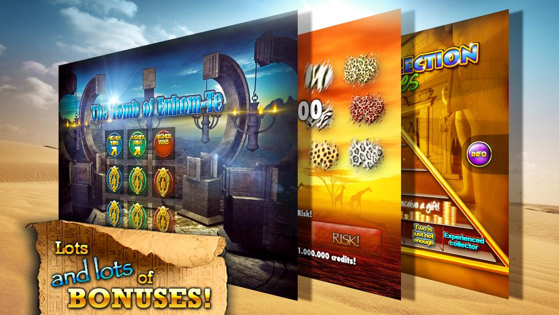 Slots - Pharaoh's Way Screenshot 3