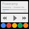 Skin for Poweramp Now/Card UI