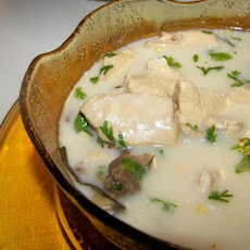 Thai Galangal Chicken Soup ( Tom Ka Gai)