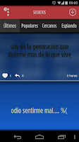 Screenshot of Secretos - confiesa y comparte