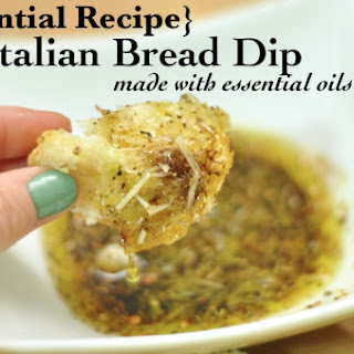 Italian Bread Dip with Essential Oils
