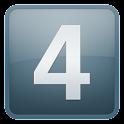 4 digits icon