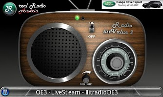 Screenshot of real Radio Austria