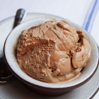Soft and Rich Chocolate Frozen Custard
