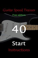 Screenshot of Guitar Speed Trainer Free